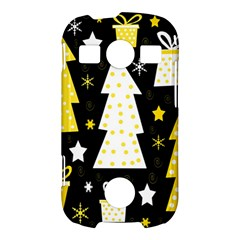 Yellow playful Xmas Samsung Galaxy S7710 Xcover 2 Hardshell Case