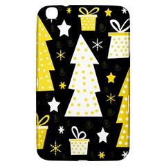 Yellow playful Xmas Samsung Galaxy Tab 3 (8 ) T3100 Hardshell Case