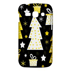 Yellow playful Xmas Samsung Galaxy Ace 3 S7272 Hardshell Case