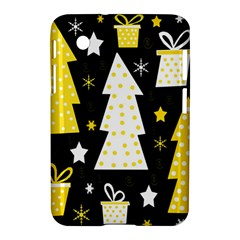 Yellow playful Xmas Samsung Galaxy Tab 2 (7 ) P3100 Hardshell Case