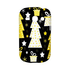 Yellow playful Xmas Samsung Galaxy S6810 Hardshell Case