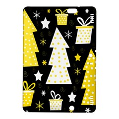 Yellow playful Xmas Kindle Fire HDX 8.9  Hardshell Case