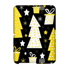 Yellow playful Xmas Amazon Kindle Fire (2012) Hardshell Case