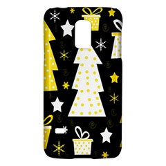 Yellow playful Xmas Galaxy S5 Mini