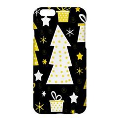 Yellow playful Xmas Apple iPhone 6 Plus/6S Plus Hardshell Case