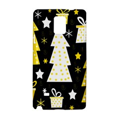 Yellow playful Xmas Samsung Galaxy Note 4 Hardshell Case
