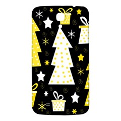 Yellow playful Xmas Samsung Galaxy Mega I9200 Hardshell Back Case