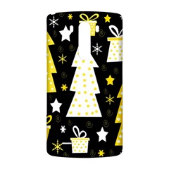 Yellow playful Xmas LG G3 Back Case