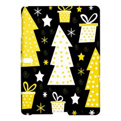 Yellow playful Xmas Samsung Galaxy Tab S (10.5 ) Hardshell Case
