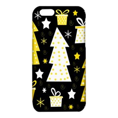 Yellow playful Xmas iPhone 6/6S TPU Case