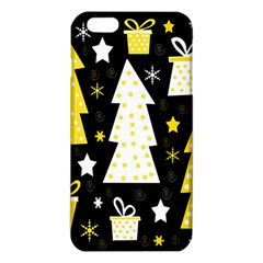 Yellow playful Xmas iPhone 6 Plus/6S Plus TPU Case