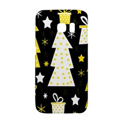 Yellow playful Xmas Galaxy S6 Edge