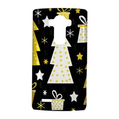 Yellow playful Xmas LG G4 Hardshell Case