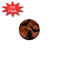 Halloween Card Scrapbook Page 1  Mini Buttons (100 pack)