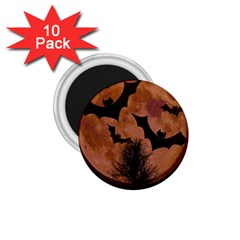Halloween Card Scrapbook Page 1.75  Magnets (10 pack)