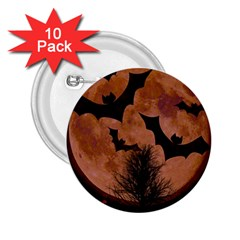 Halloween Card Scrapbook Page 2.25  Buttons (10 pack)