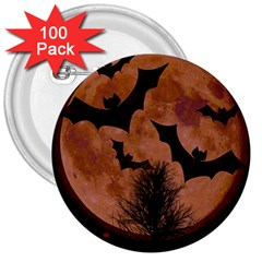 Halloween Card Scrapbook Page 3  Buttons (100 pack)