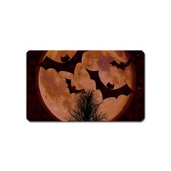 Halloween Card Scrapbook Page Magnet (Name Card)