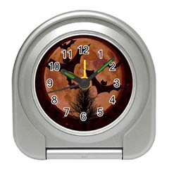 Halloween Card Scrapbook Page Travel Alarm Clocks