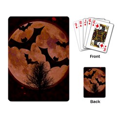 Halloween Card Scrapbook Page Playing Card