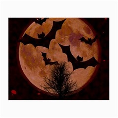 Halloween Card Scrapbook Page Small Glasses Cloth (2-Side)