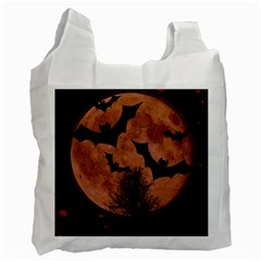 Halloween Card Scrapbook Page Recycle Bag (One Side)