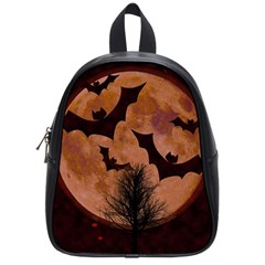 Halloween Card Scrapbook Page School Bags (Small)