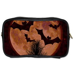 Halloween Card Scrapbook Page Toiletries Bags