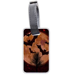 Halloween Card Scrapbook Page Luggage Tags (Two Sides)