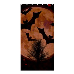 Halloween Card Scrapbook Page Shower Curtain 36  x 72  (Stall)