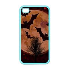 Halloween Card Scrapbook Page Apple iPhone 4 Case (Color)