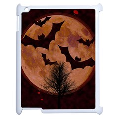 Halloween Card Scrapbook Page Apple iPad 2 Case (White)