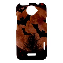 Halloween Card Scrapbook Page HTC One X Hardshell Case