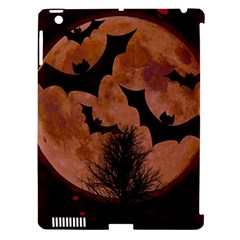 Halloween Card Scrapbook Page Apple iPad 3/4 Hardshell Case (Compatible with Smart Cover)