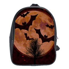 Halloween Card Scrapbook Page School Bags (XL)