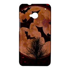 Halloween Card Scrapbook Page HTC One M7 Hardshell Case