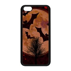 Halloween Card Scrapbook Page Apple iPhone 5C Seamless Case (Black)