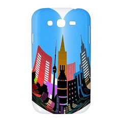 Heart Shape City Love  Samsung Galaxy Grand DUOS I9082 Hardshell Case