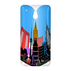 Heart Shape City Love  HTC One Mini (601e) M4 Hardshell Case