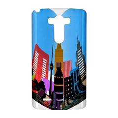 Heart Shape City Love  LG G3 Hardshell Case