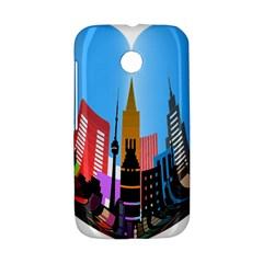 Heart Shape City Love  Motorola Moto E