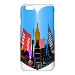 Heart Shape City Love  iPhone 6/6S TPU Case