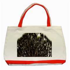 Inflorescences Classic Tote Bag (Red)
