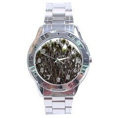 Inflorescences Stainless Steel Analogue Watch