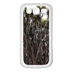 Inflorescences Samsung Galaxy S3 Back Case (White)