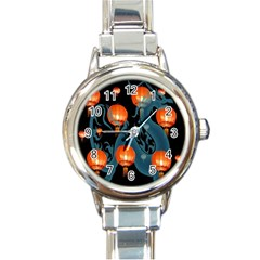 Lampion Round Italian Charm Watch