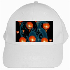 Lampion White Cap
