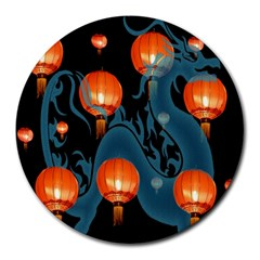 Lampion Round Mousepads