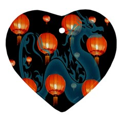 Lampion Ornament (Heart)
