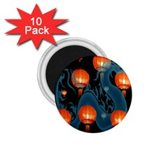 Lampion 1.75  Magnets (10 pack)